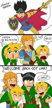 Welcome Back OoT Link