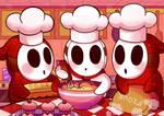 Chef Shy Guys