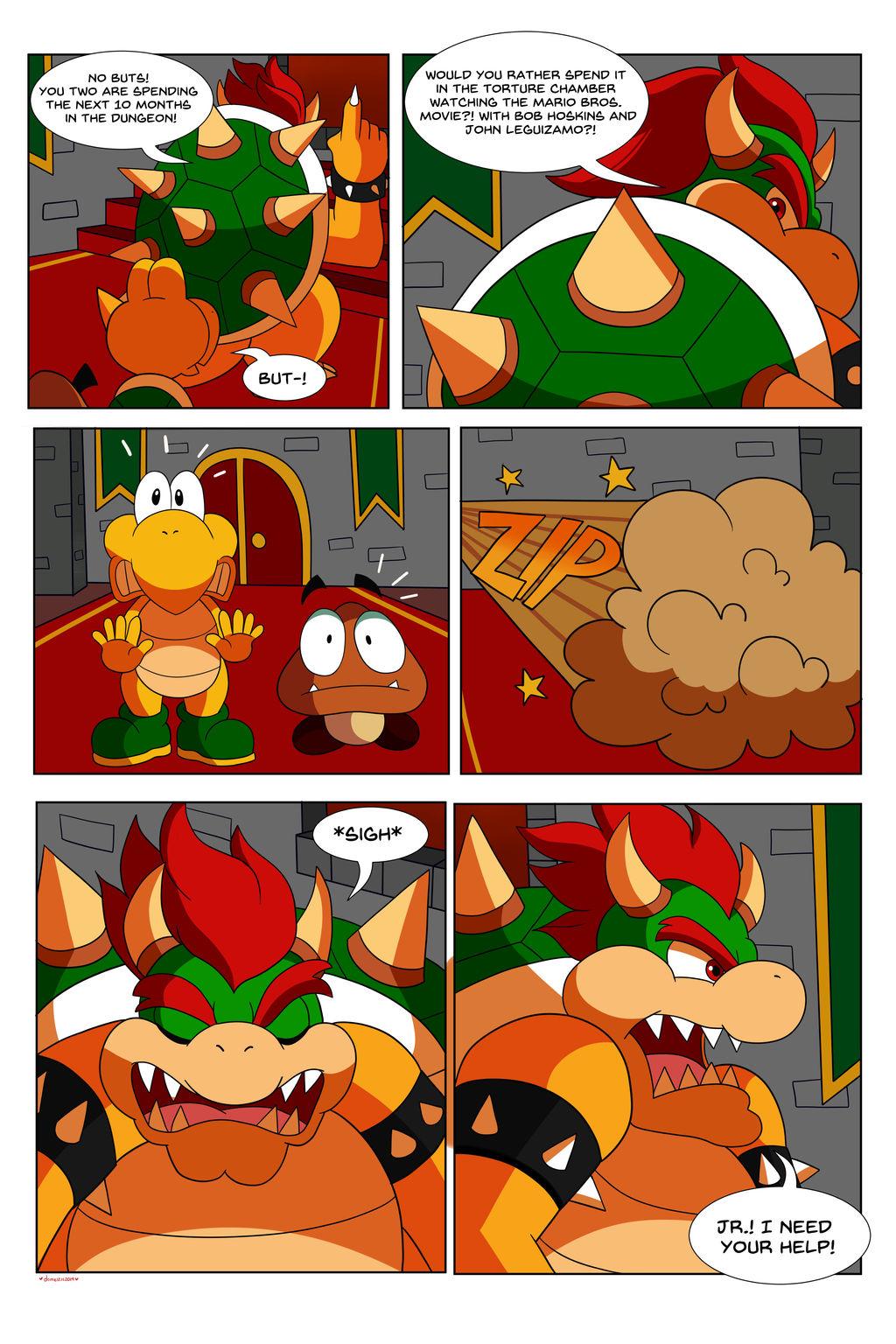 Commission Mario Bros Comic Page 5