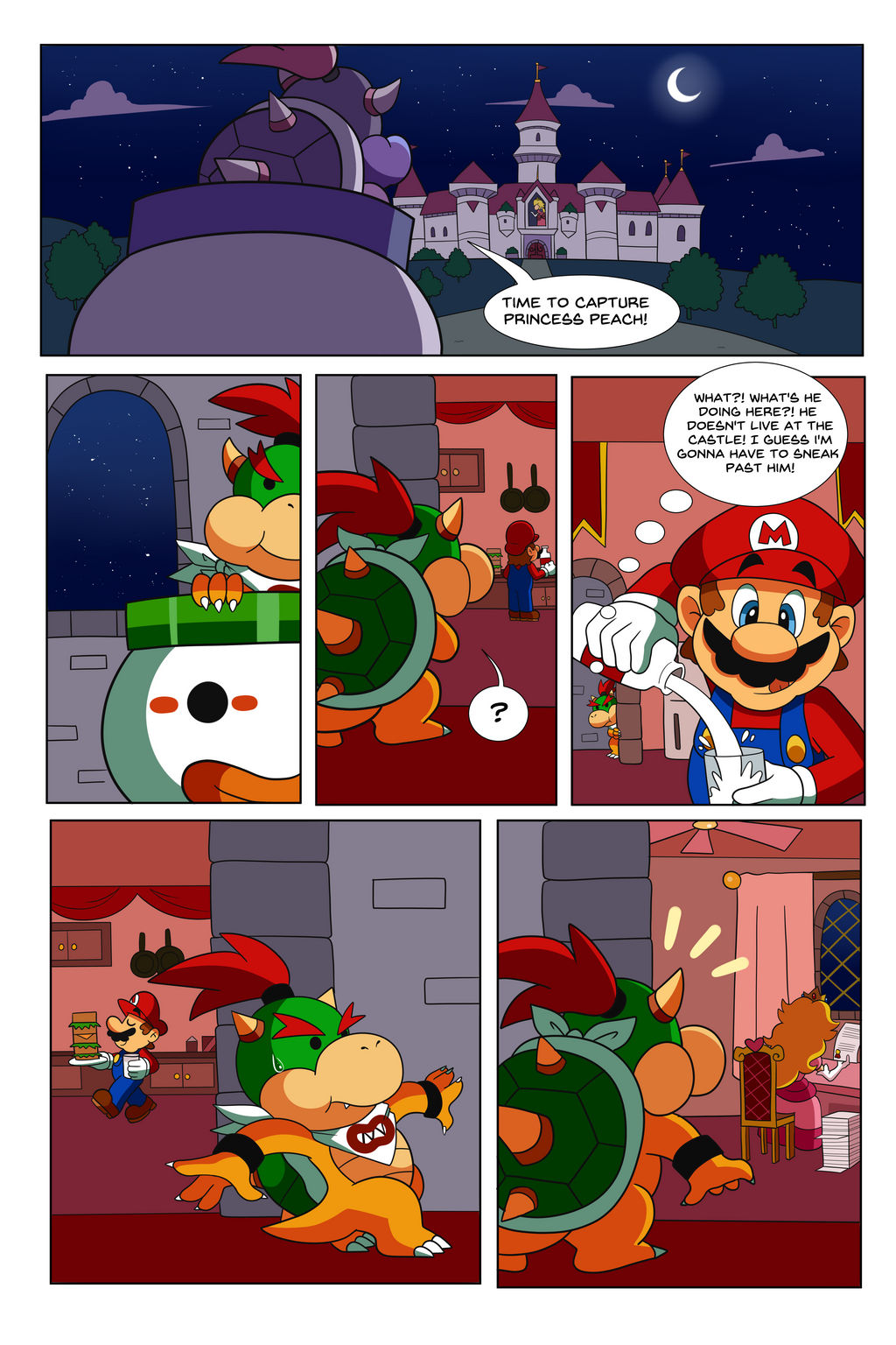 Commission Mario Bros Comic Page 7