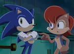 Sonic X screenshot Sonally