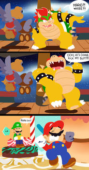 Bowser Is A Coward