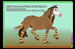 8518 Baron von Caramel Candycane by PinkPonyFarts