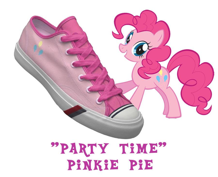 Pinkie Pie shoes by DoctorRedBird