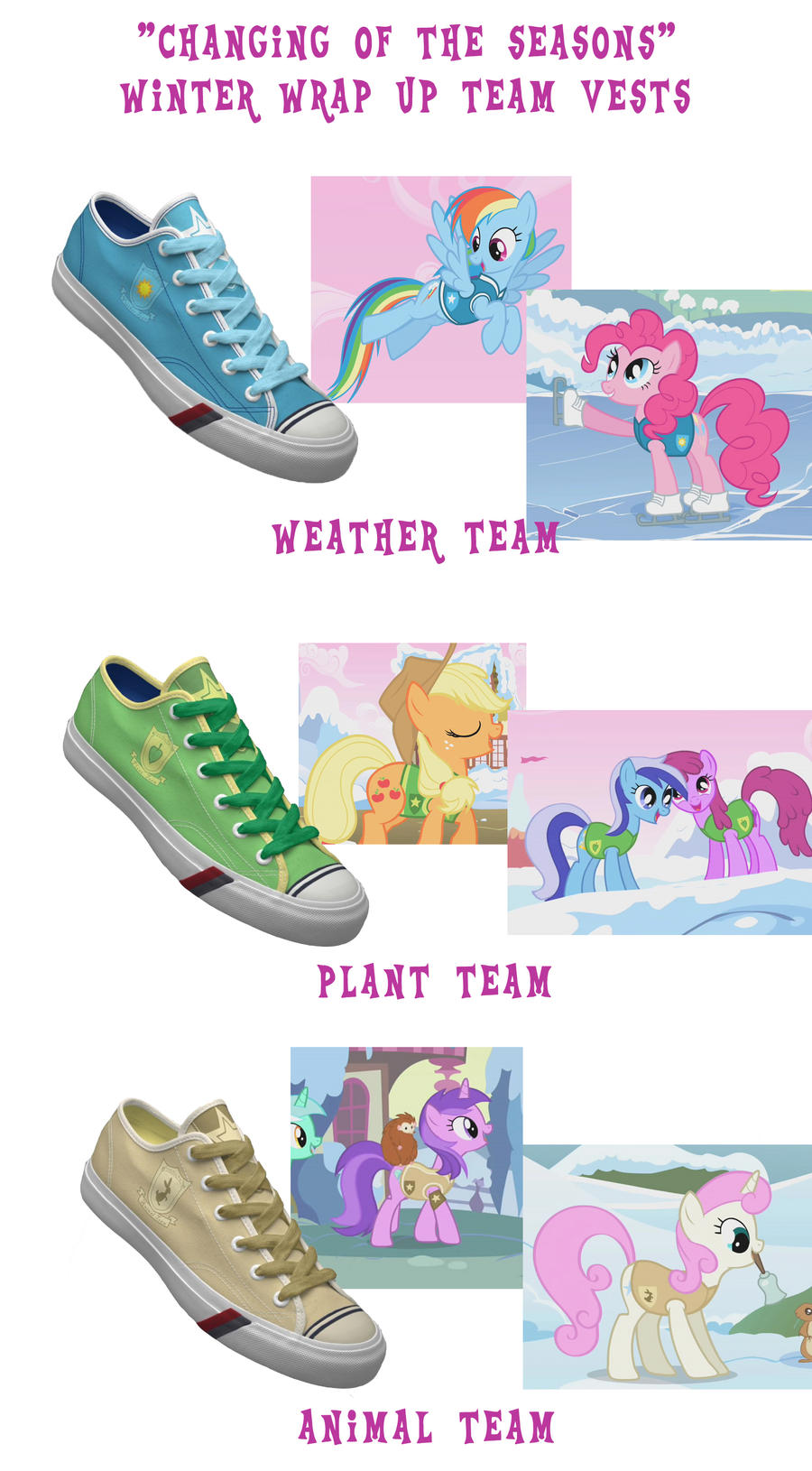 Winter Wrap Up shoes by DoctorRedBird