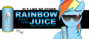 Rainbow Juice billboard