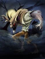 Wolf-Man by malara-art