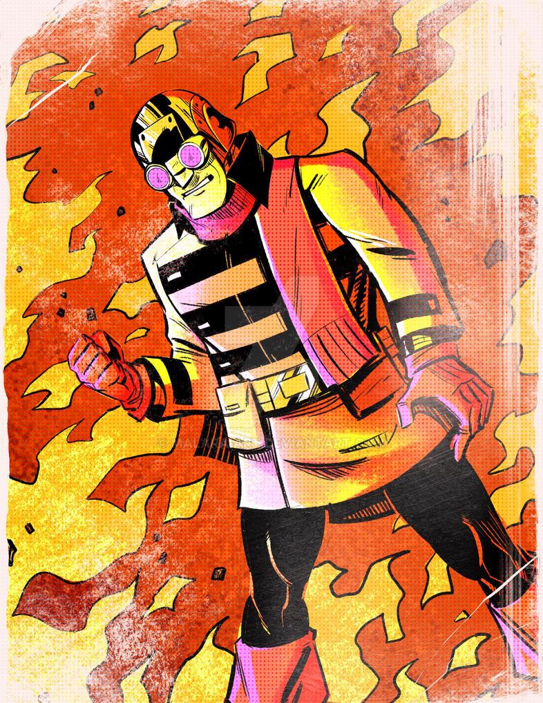Von Ghoul Trading Card by malara-art