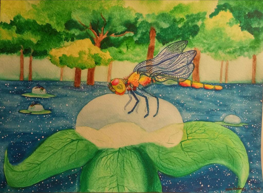 The Dragonfly by Yummy-Pumpkin-Chan