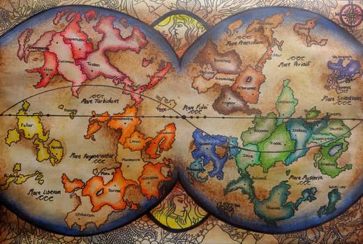 Imaginary Fantasy Map
