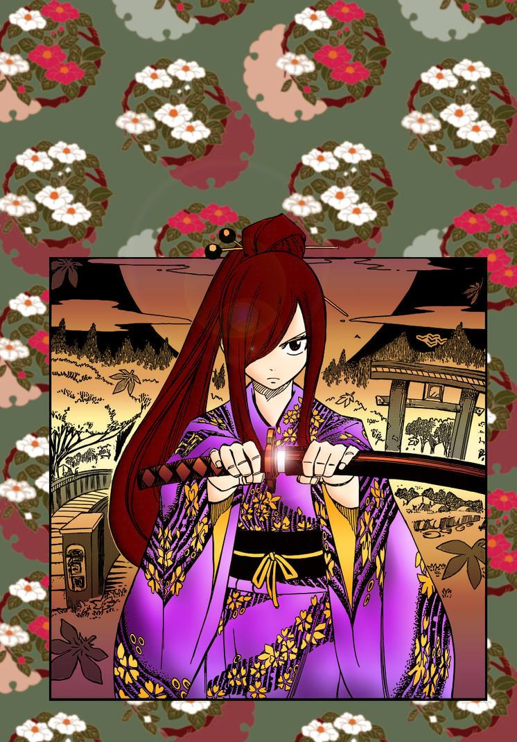 Samurai Erza by Reina-13
