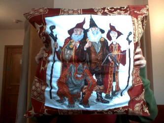 Terry Pratchett Cushion Cover