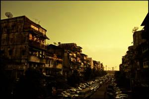 Myanmar: dusk by Bekon