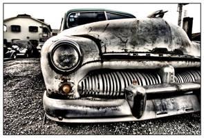 Old Car by Bekon