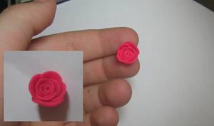 a little pink rose.