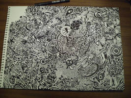 Watch me draw this: 15 hours of detailed work!