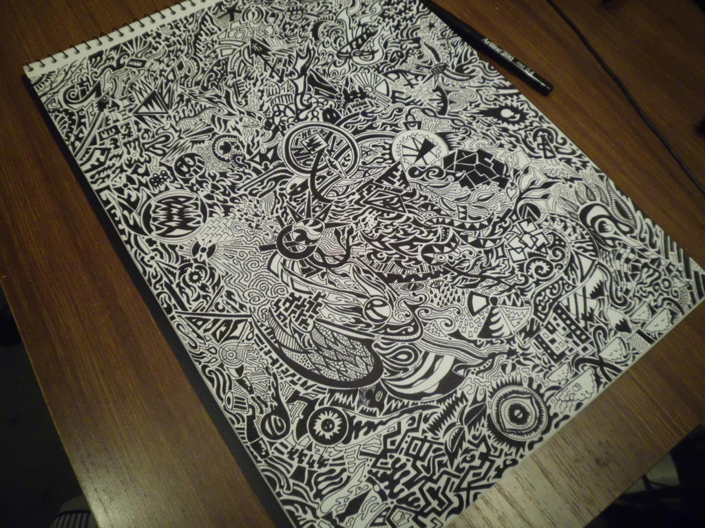 Cool Art Designs To Draw : Watch me draw this! 15 hours of detailed art : by importautumn on