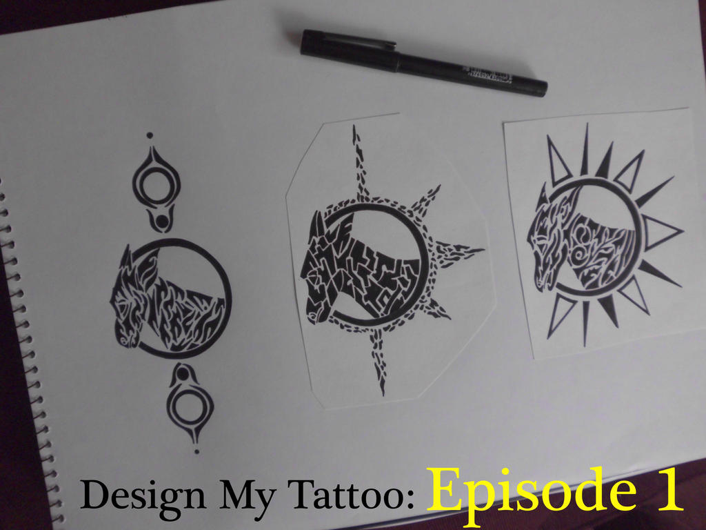 design my tattoo ep 1 tribal donkey youtube by importautumn on deviantart. Black Bedroom Furniture Sets. Home Design Ideas