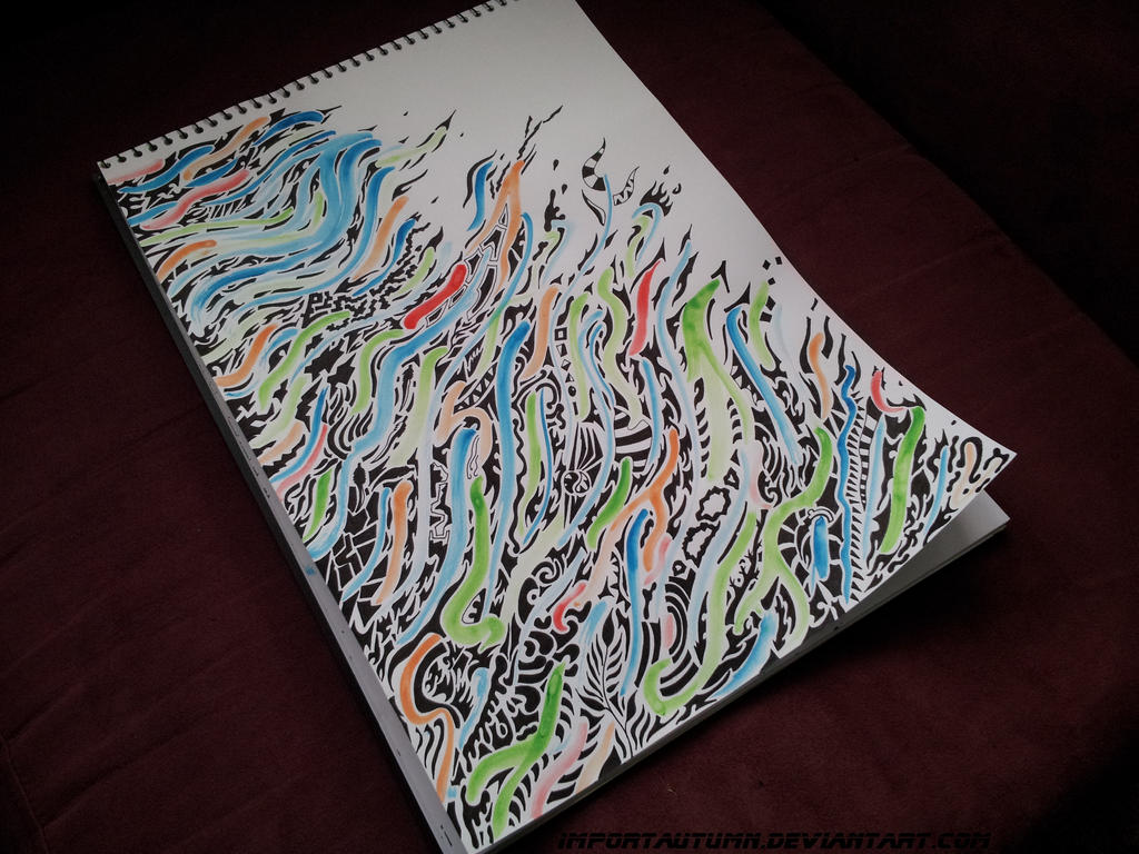Tribal Colour Youtube Drawing Video By Importautumn On Deviantart