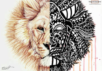 Realism vs Polynesian LION [YouTube Collab] by ImportAutumn