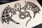 Daily Drawing #11 - Dragon! [Vlog]