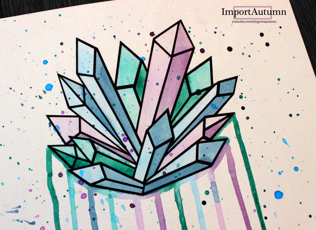 Drawing Smooth Lines Xbox One : Daily drawing crystals vlog by importautumn on