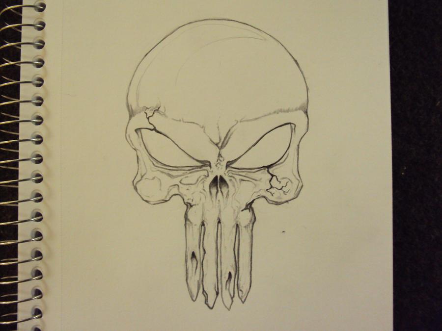 Punisher Skull wip by k0op4 on DeviantArt