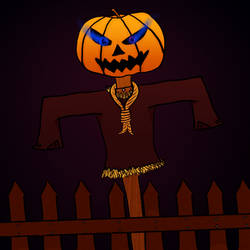 Spooktober Day 16 - Scarecrow by TheHantaiCollection