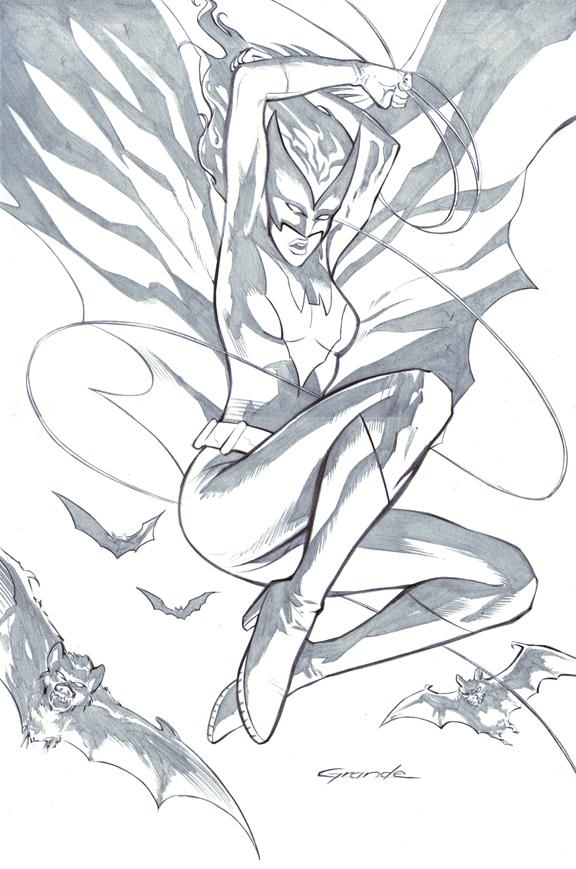 Batwoman by johnnymorbius
