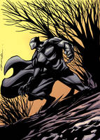 Black Panther by johnnymorbius