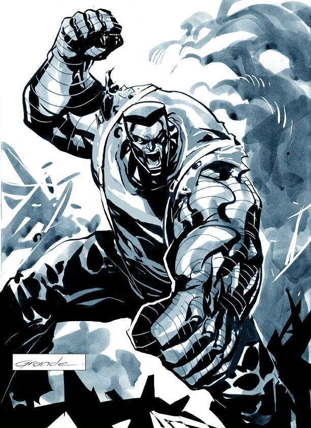 Colossus by johnnymorbius