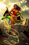 Wonder Woman comission by johnnymorbius