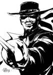 Zorro by johnnymorbius