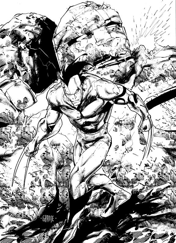 Daken, son of Wolverine by johnnymorbius