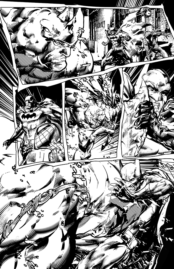 Spider-man and Batman p03 by johnnymorbius