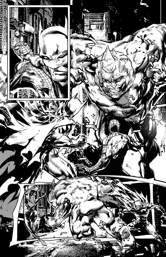 Spider-man and Batman p02 by johnnymorbius