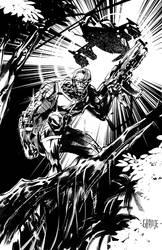Deathlok by johnnymorbius