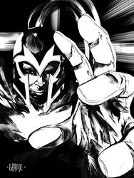 Magneto by johnnymorbius