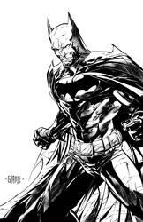 Batman by johnnymorbius
