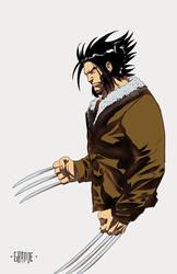 Wolverine by johnnymorbius
