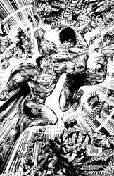 Superman vs Kenshiro