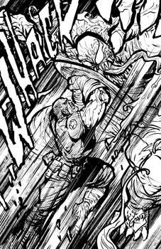 Captain America vs Venom