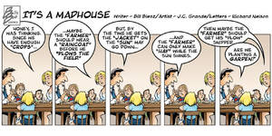 It's A Madhouse strip colored