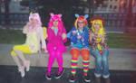 Equestria girls cosplay