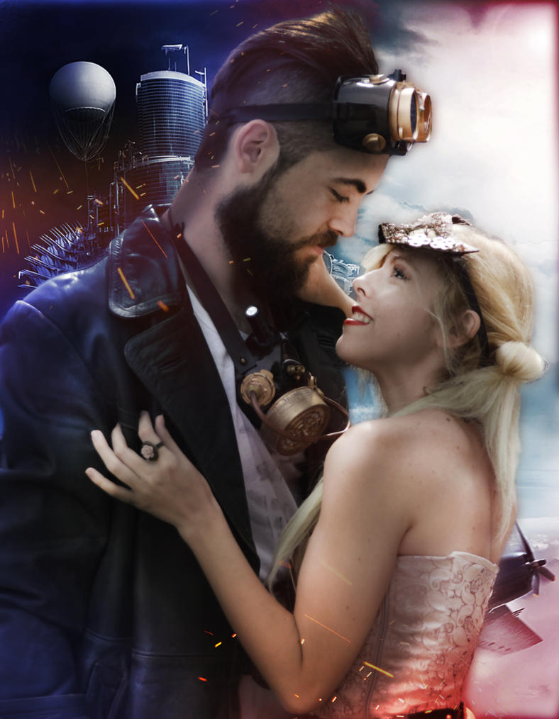 Extraterrestrial steampunk romance by MissWeirdCat
