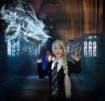Princess Elsa goes to Hogwarts Frozen cosplay