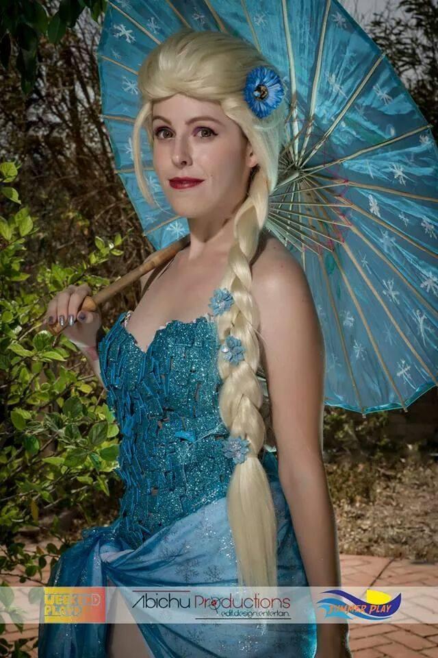 Summer Elsa cosplay Frozen by MissWeirdCat