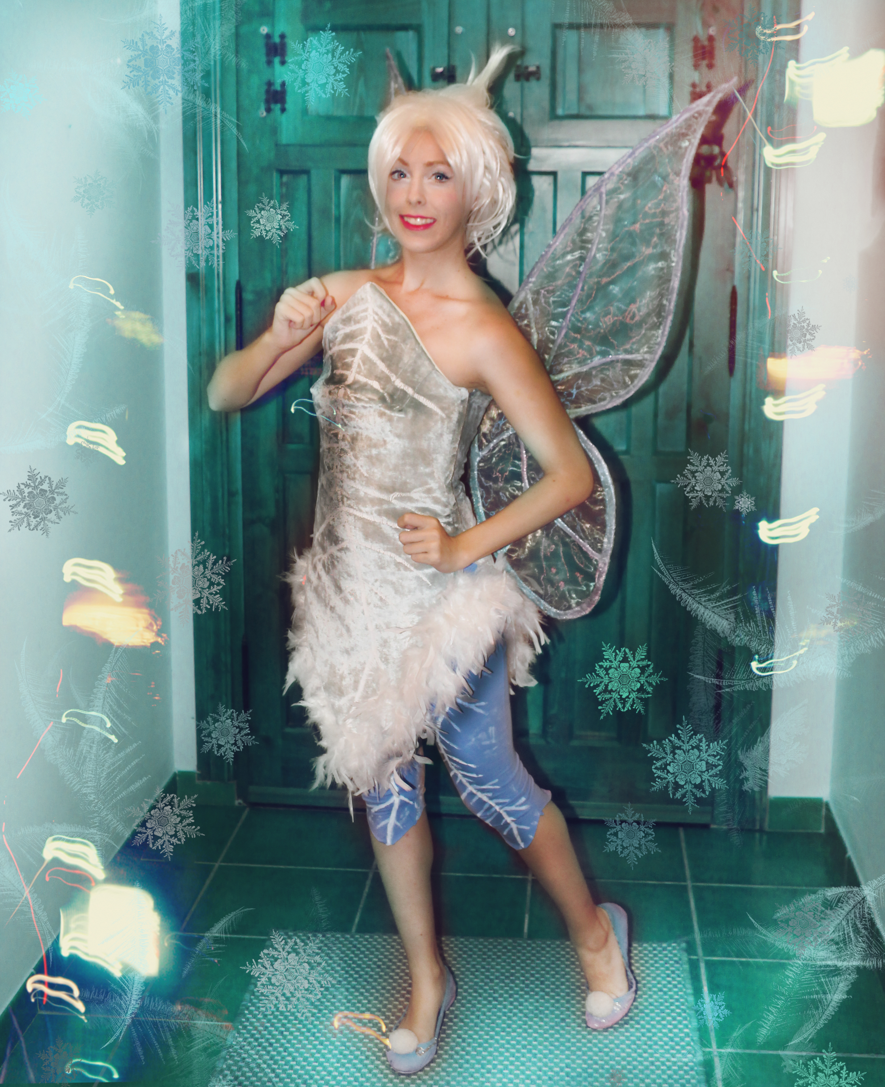Periwinkle the winter fairy cosplay by MissWeirdCat on ...