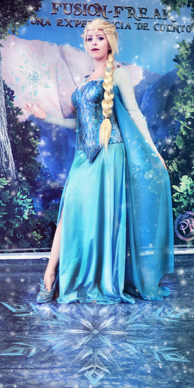 you cant stop this winter elsa cosplay frozen by MissWeirdCat