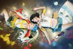 Rikku and Yuna cosplay final fantasy x2 cosplay